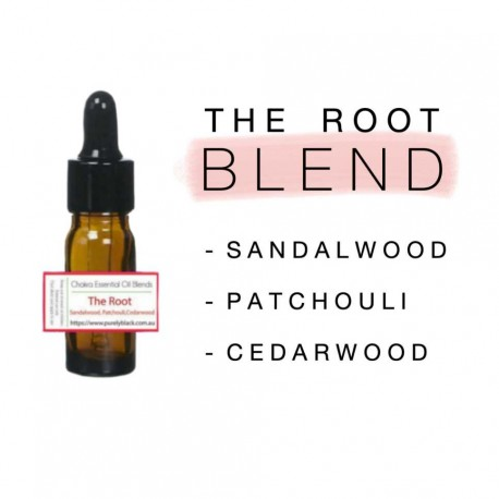 Buy Root chakra essential oil blend at purelyBlack Australia