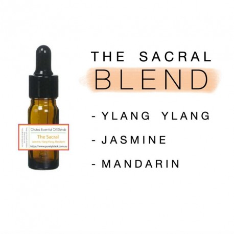 Yoga Essential Oil - The Sacral Chakra Essential Oil Blend
