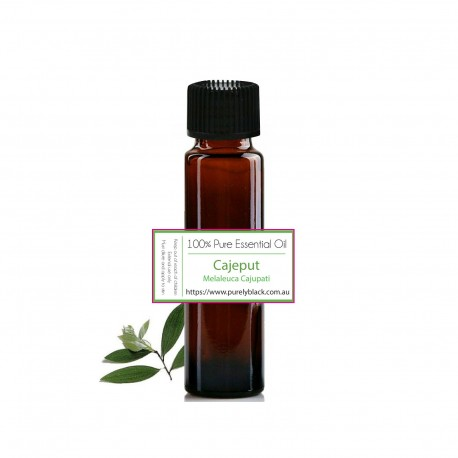 Pure Cajeput Essential Oil [ Melaleuca cajupati ] 10 ml