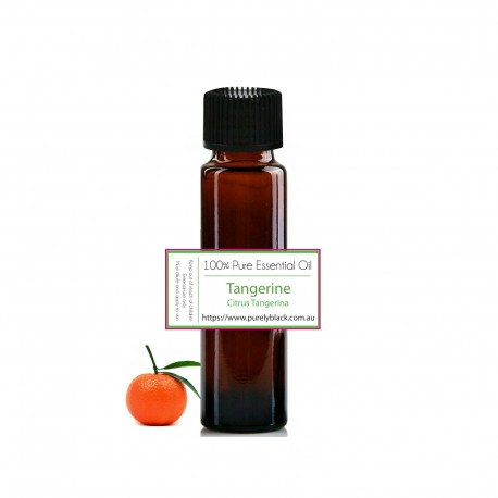 Buy Pure Tangerine Essential Oil [ Citrus tangerina ] at purelyBlack Australia