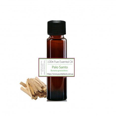 Pure Palo Santo Essential Oil [Bursera graveolens] / Resinoid 10 ml