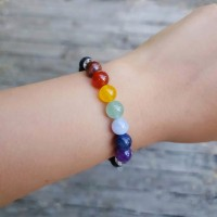 Diffuser Bracelet + 5ml Essential Oil Blend - Lava Stones