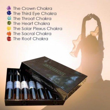 Chakra Collection - Pure Chakra Essential Oils Kit