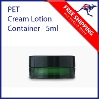 Mini Size PET Cream Lotion Container 5ml