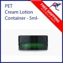 Mini Size Plastic Cream Lotion Lip Balm Container 5ml