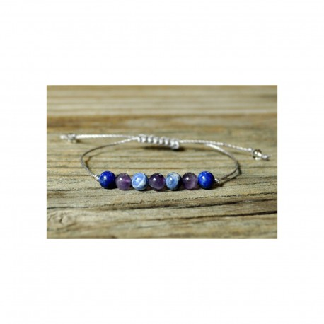 Third eye gemstone bracelet